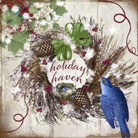 Bluebird Christmas II Fine-Art Print
