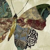 Butterfly Brocade II Fine-Art Print