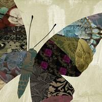 Butterfly Brocade IV Fine-Art Print