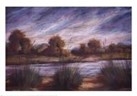 Pastel Landscape I Fine-Art Print