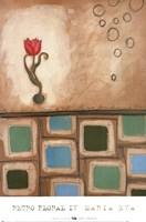 Retro Floral IV Fine-Art Print