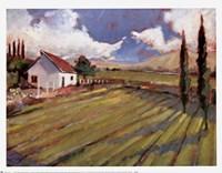 Pastoral Fields II Fine-Art Print
