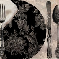 Victorian Table I Fine-Art Print