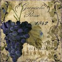Vino Italiano III Framed Print