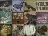 Cabela hunting season 12 patch Fine-Art Print