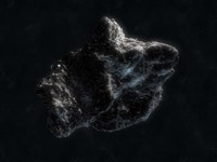 Asteroid in Space Fine-Art Print