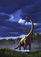 Brachiosaurus Fine-Art Print