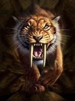 Saber-toothed Tiger Fine-Art Print
