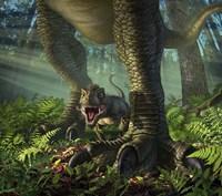Baby Tyrannosaurus Rex Fine-Art Print