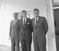 President John Kennedy and Brothers Fine-Art Print