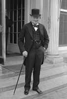 Winston Churchill Fine-Art Print
