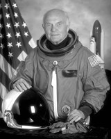 Astronaut John Glenn Fine-Art Print