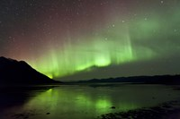 Aurora Borealis over Kluane Lake Fine-Art Print