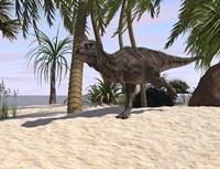 Majungasaurus Running Fine-Art Print