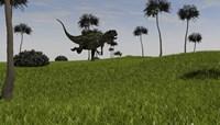 Yangchuanosaurus Running Fine-Art Print