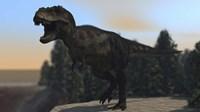 A Fierce Tyrannosaurus Rex Fine-Art Print