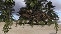 Brown Einiosaurus Fine-Art Print