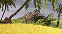 Ceratosaurus Hunting Fine-Art Print