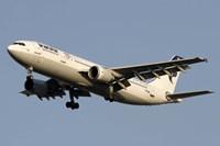 Airbus A310 of Iran Air Fine-Art Print