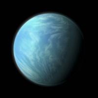 Kepler 22B Fine-Art Print