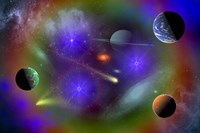 Conceptual Image of Outer Space Fine-Art Print