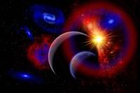 Sunrise over Alien Worlds Fine-Art Print