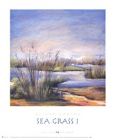 Sea Grass I Fine-Art Print