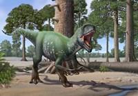 A Megaraptor Fine-Art Print