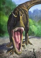 Ceratosaurus Dentisulcatus Fine-Art Print