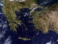 Greece and Turkey Fine-Art Print