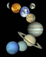 Solar System Montage Fine-Art Print