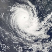 Tropical Cyclone Carina Fine-Art Print