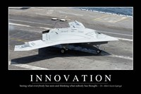 Innovation: Inspirational Quote and Motivational Poster Fine-Art Print