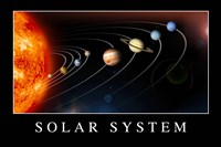 Solar System Poster Fine-Art Print
