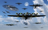 UFO Sightings during World War II Fine-Art Print