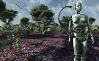 Eve in the Garden of Eden Fine-Art Print