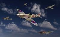 A Royal Air Force Supermarine Spitfire Fine-Art Print