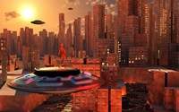 Alien Race Migrating Fine-Art Print