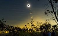 Solar Eclipse Composite Fine-Art Print
