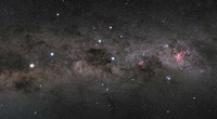 Southern Cross Pointers in the Milky Way Fine-Art Print