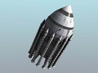 Orion-Drive Spacecraft Fine-Art Print