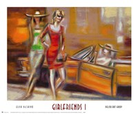 Girlfriends I Fine-Art Print