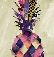 Pineapple Brocade II Fine-Art Print