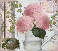 Chalet d ete Hydrangea Fine-Art Print