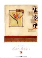 Eastern Garden I Fine-Art Print