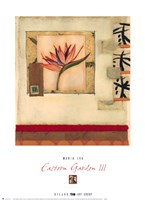 Eastern Garden III Fine-Art Print