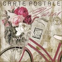 Postale  Paris I Fine-Art Print