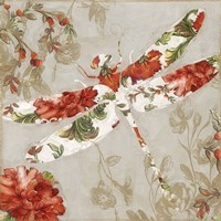 Winged Tapestry III Fine-Art Print