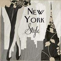 New York Style I Fine-Art Print
