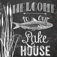 Lake House I Fine-Art Print